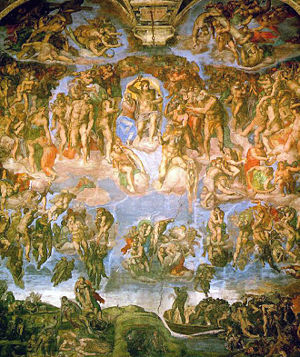 300px-Michelangelo_-_Fresco_of_the_Last_Judgement